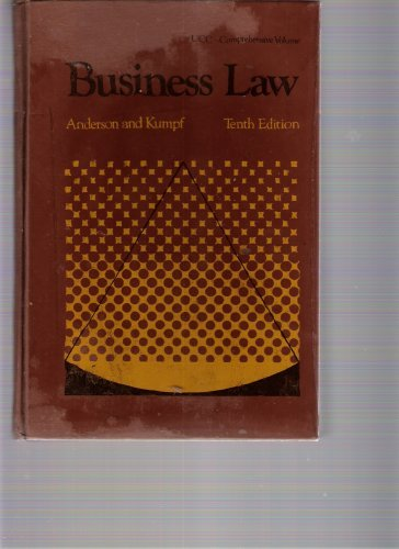 9780538126205: Business law