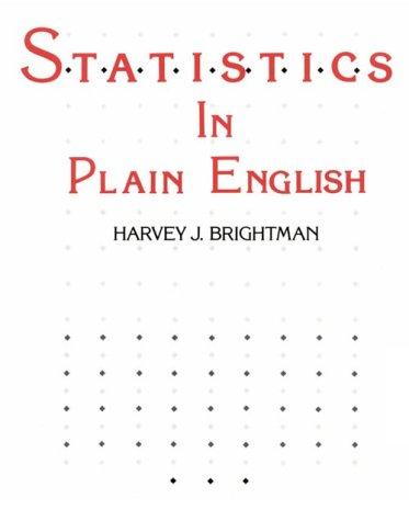 9780538132107: Statistics in Plain English (Qm - Quantitative Methods)