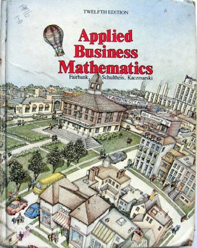 9780538134606: Applied Business Mathematics