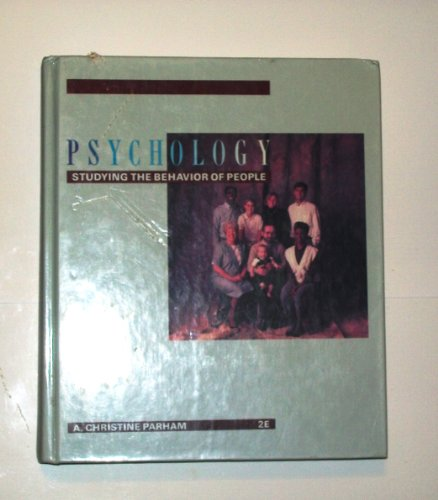 9780538161107: Psychology: Studying the Behaviour of People