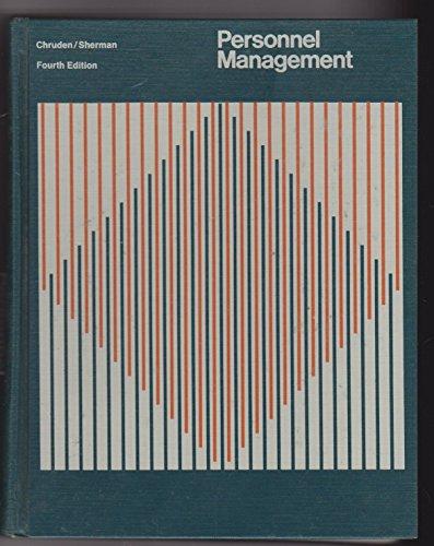 9780538161305: Personnel Management