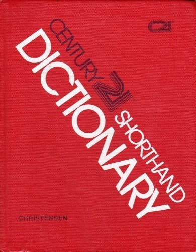 9780538181402: Century 21 Shorthand Dictionary