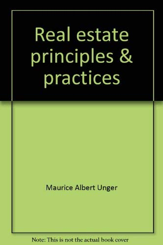 9780538196505: Real estate, principles & practices