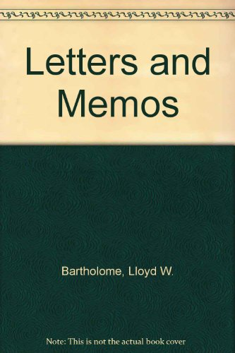 9780538203722: Letters and Memos