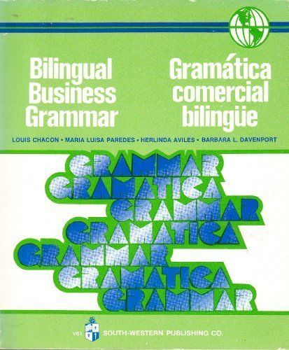 9780538226103: Bilingual Business Grammar Gramatica Comercil Bilingual