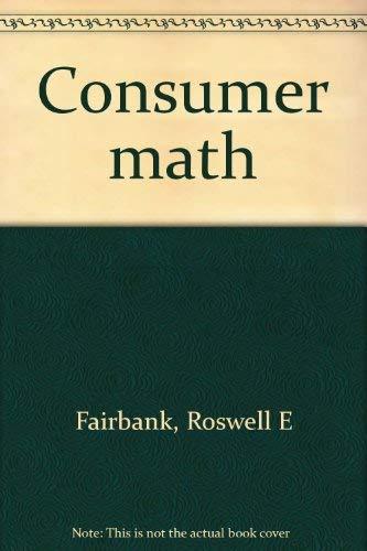 9780538281072: Consumer math