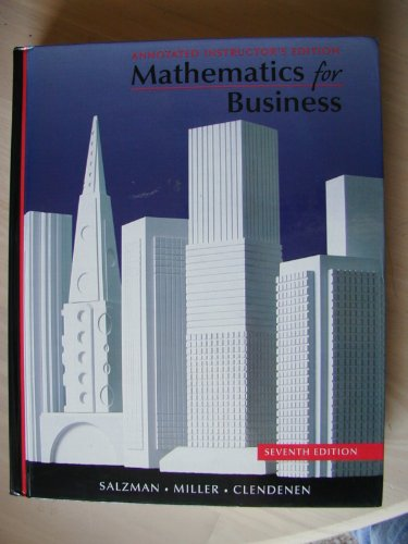 9780538284684: Applied Business Mathematics 13th edition