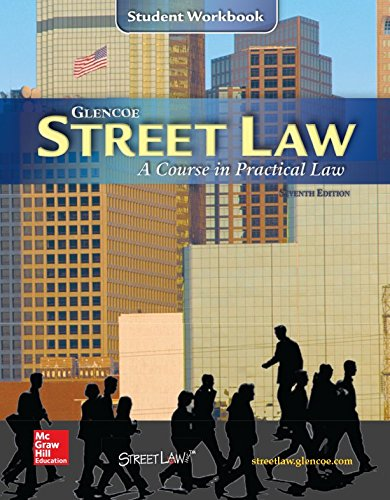 9780538426954: Street Law: A Course in Practical Law, Workbook