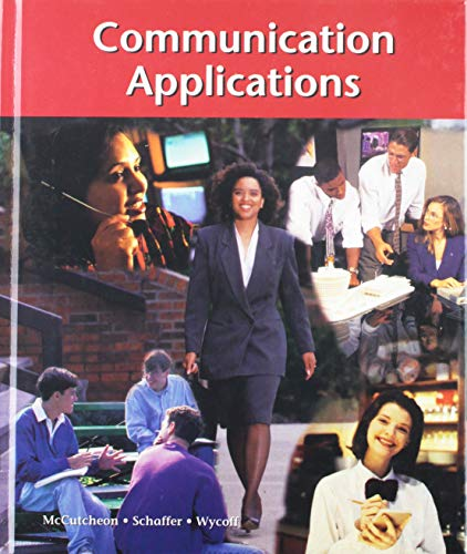 9780538429184: Communication Applications