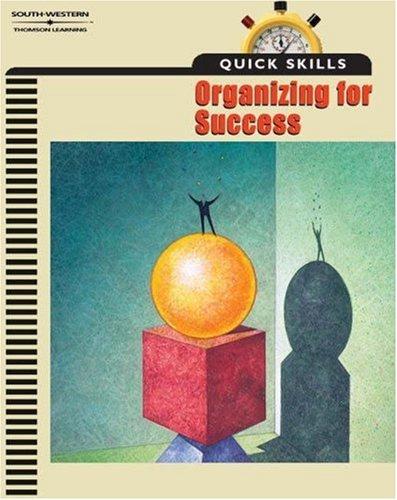 9780538432238: Quick Skills: Organizing For Success