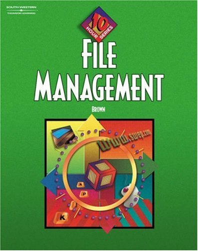 9780538432757: File Management 10-Hour Series: Student Text, Softcover