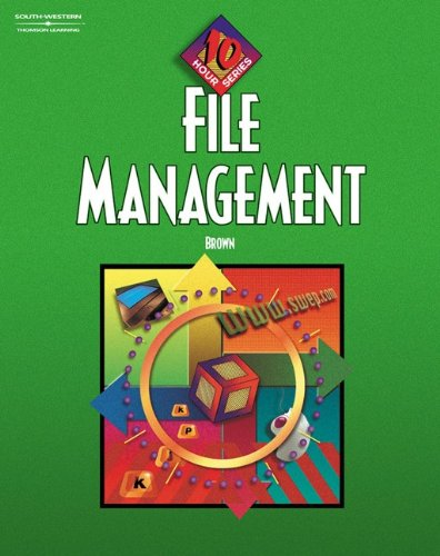 9780538432764: File Management, 10-Hour Series Text/CD Package
