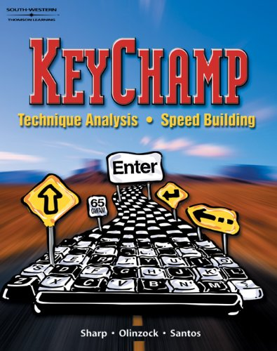 9780538433921: KeyChamp: Technique Analysis, Speed Building