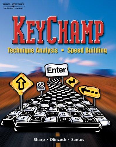 9780538433921: Keychamp: Technique Analysis, Speed Building