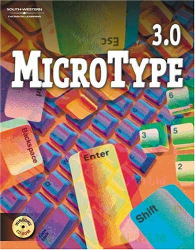 9780538433976: Microtype 3.0 Windows Site License CD-ROM with User's Guide