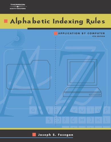 9780538434720: Alphabetic Indexing Rules: Application by Computer (with CD-ROM)