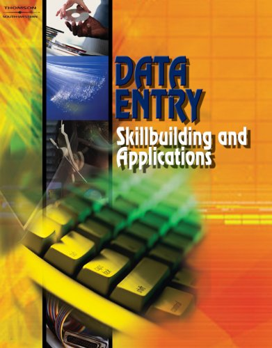 9780538434768: Data Entry: Skillbuilding & Applications (with CD-ROM)