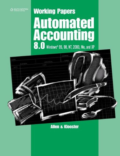 9780538435093: Working Papers for Automated Accounting 8.0