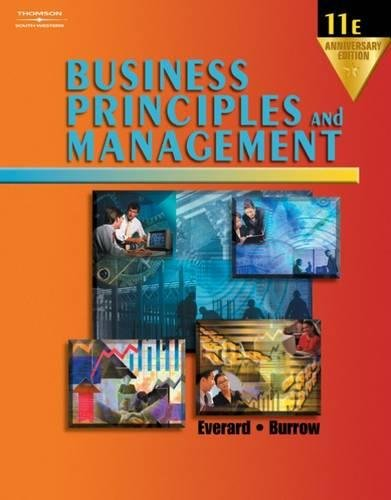 9780538435901: Business Principles and Management, Anniversary Edition