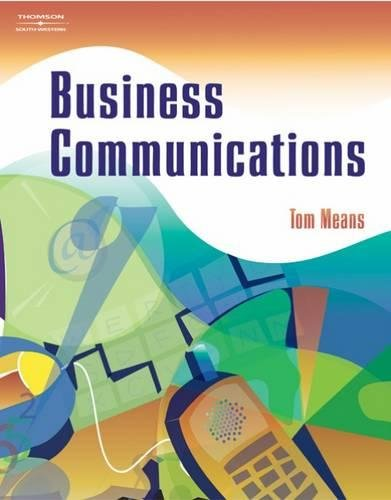 9780538436823: Business Communications