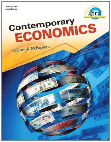 Contemporary Economics: McEachern, William A.