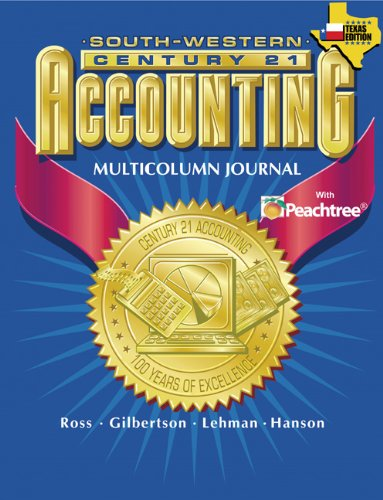 9780538437318: Century 21 Accounting for Texas Multicolumn Journal Approach