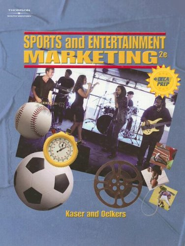 Hardbound Student Edition for Sports and Entertain: South-Western Educational Pub