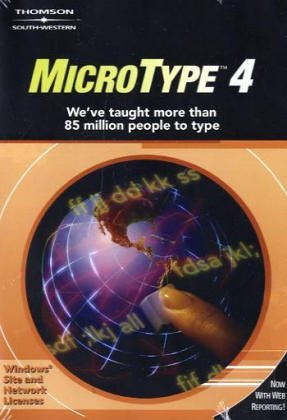 Windows Site License CD/User Guide for MicroType 4.3 (0538440503) by South-Western Educational Publishing