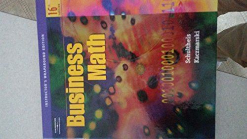 9780538440530: Iwe Business Math 16E