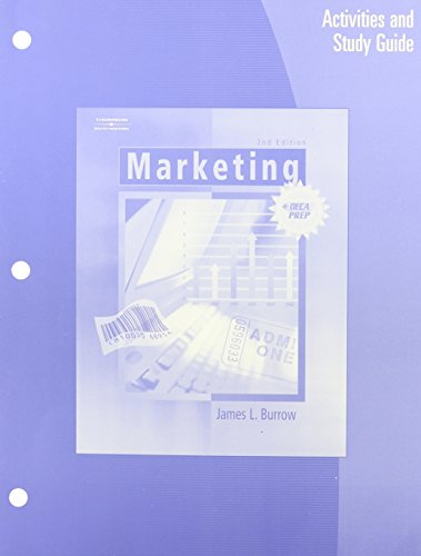 9780538440981: Marketing: Activities and Study Guide