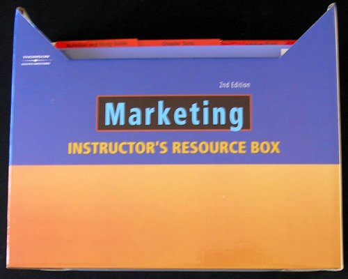 Marketing 2nd Edition Instructor's Resource Box: Thomson West