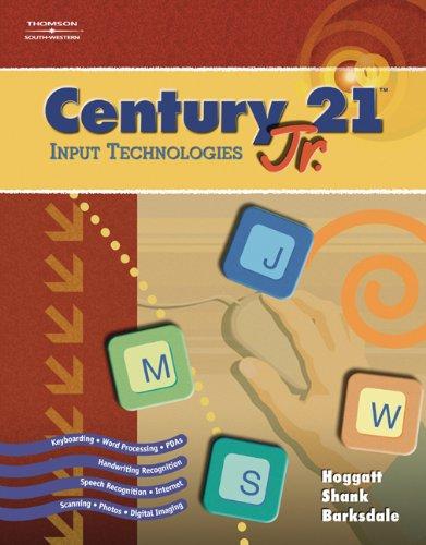 9780538442633: Century 21™ Jr., Input Technologies
