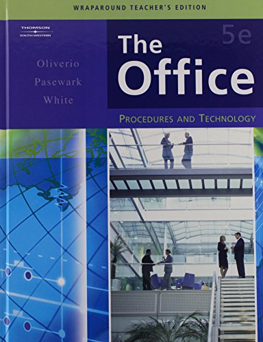 The Office- Procedures and Technology- Wraparound Teacher's Edition, 5th: Oliverio