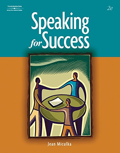 Speaking for Success: Miculka, Jean