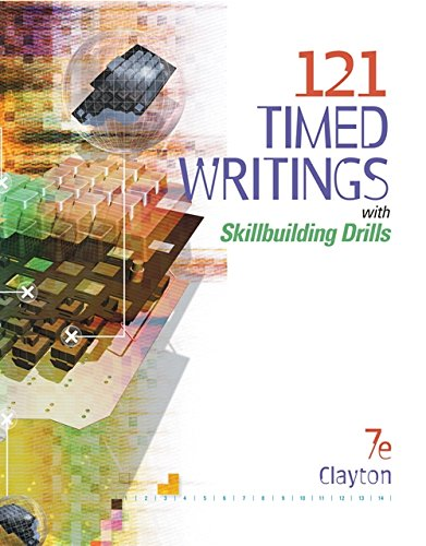 9780538444392: 121 Timed Writings with Skillbuilding Drills (with MicroPace Pro Individual) (Keyboarding Production)