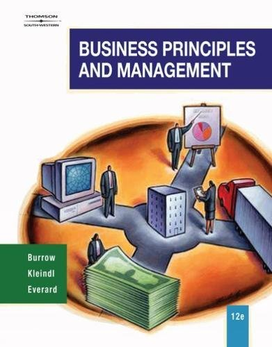 9780538444682: Business Principles and Management (Management Decision Making)