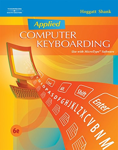 9780538445436: Applied Computer Keyboarding (Keyboarding Production)