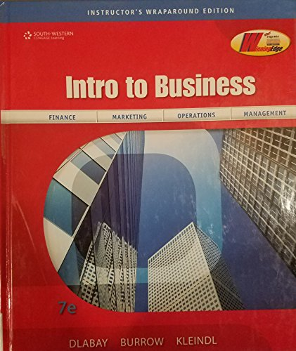 Introduction to Business, 7th Edition: Dlabay, Les R.