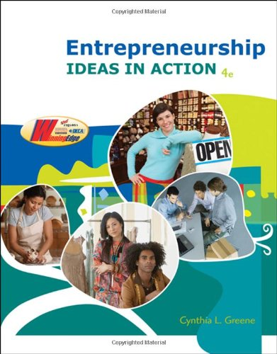 9780538446266: Entrepreneurship: Ideas in Action (with CD-ROM)