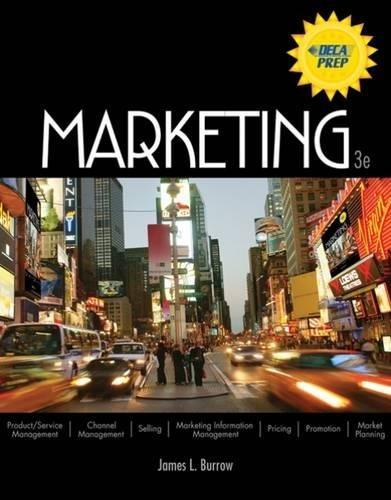 9780538446648: Marketing (Marketing Titles from Burrow)