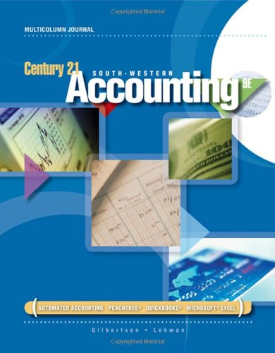 9780538447058: Century 21 Accounting: Multicolumn Journal (Available Titles CengageNOW)