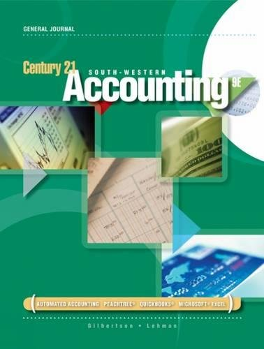 9780538447560: Century 21 Accounting: General Journal