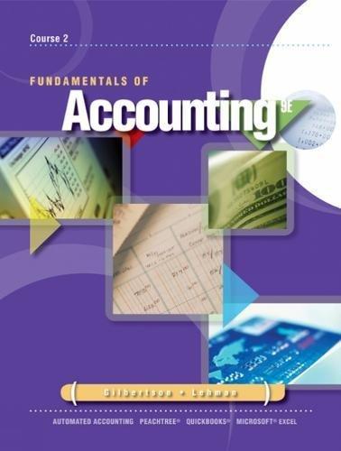 9780538448277: Fundamentals of Accounting: Course 2 (Advantage)