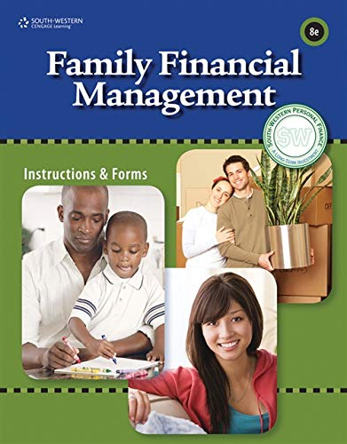 Family Financial Management (Title 1): South-Western Educational Publishing