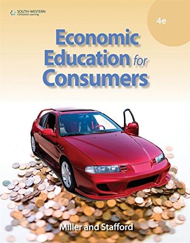 9780538448888: Economic Education for Consumers
