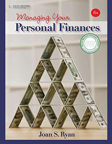 9780538449373: Managing Your Personal Finances (Financial Literacy Promotion Project)