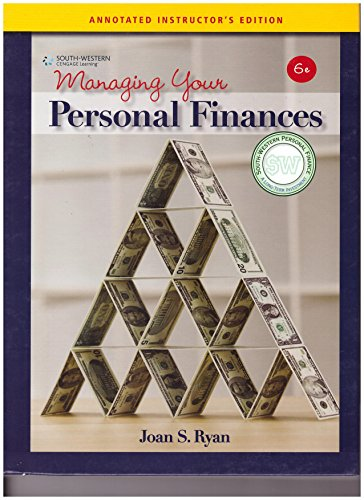 9780538449380: Aie Mng Personal Finance 6e