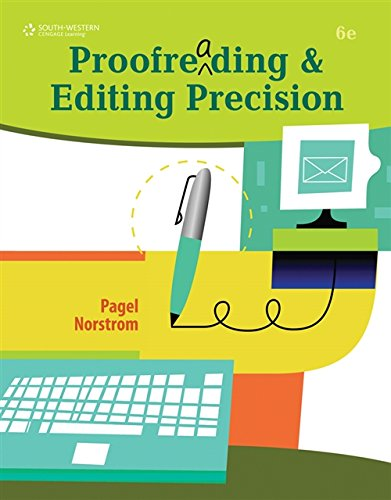 9780538450454: Proofreading and Editing Precision (with CD-ROM)