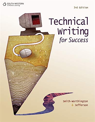 writing technical books The five-way access system of the handbook of technical writing provides  the  index lists all the topics covered in the book, including subtopics within the.