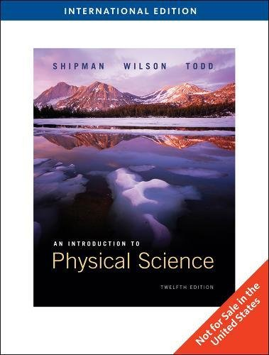 Introduction to Physical Science: Shipman James T.